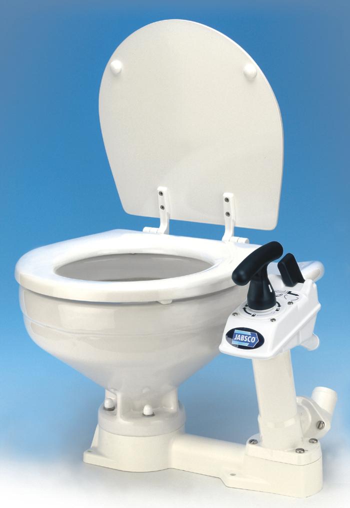 Jabsco 29090 3000 Manual Twist N Lock Toilet Compact