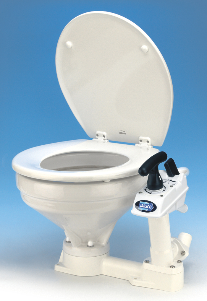 Jabsco 29120 3000 Manual Twist N Lock Toilet Regular