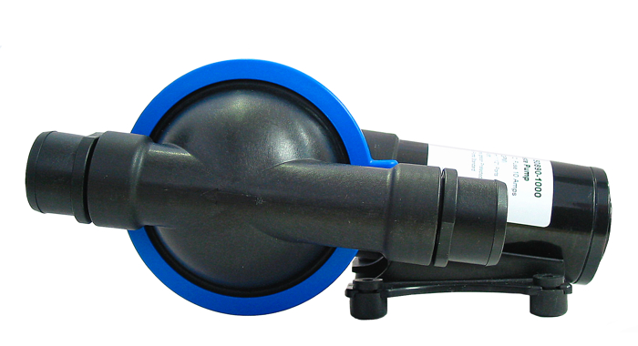Jabsco 50890 1000 Self Priming Diaphragm Waste Pump 12