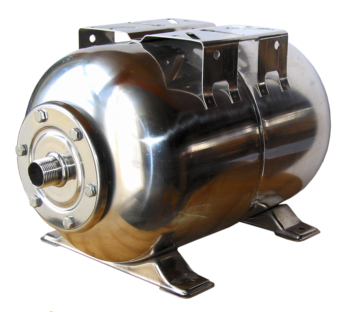 Cw stainless steel accumulator tank litre