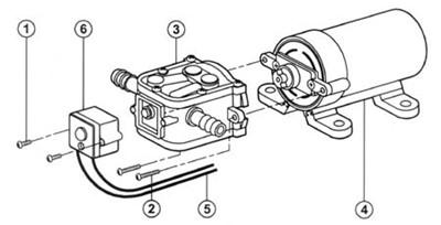 Flojet Rlf122002c Manual Demand Single Fixture Pump