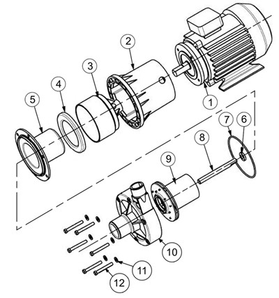 Centrifugal Transfer Pump, Centrifugal, Free Engine Image