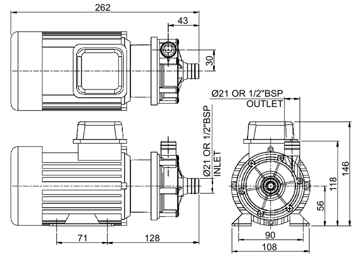 flojet 018923  3  50hz    centrifugal series