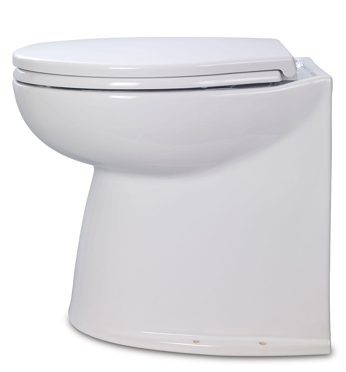 Jabsco 58040 2024 Deluxe Flush Electric Toilet Fresh
