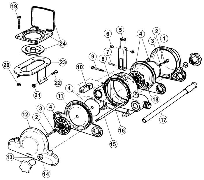 marine toilet pumps shower pump wiring diagram