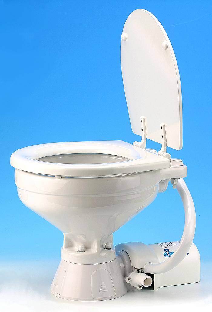 Jabsco 37010 1090 Toilet 12v Regular Bowl Electric