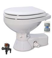 Jabsco 37045 3092 Quiet Flush Electric Toilet Fresh