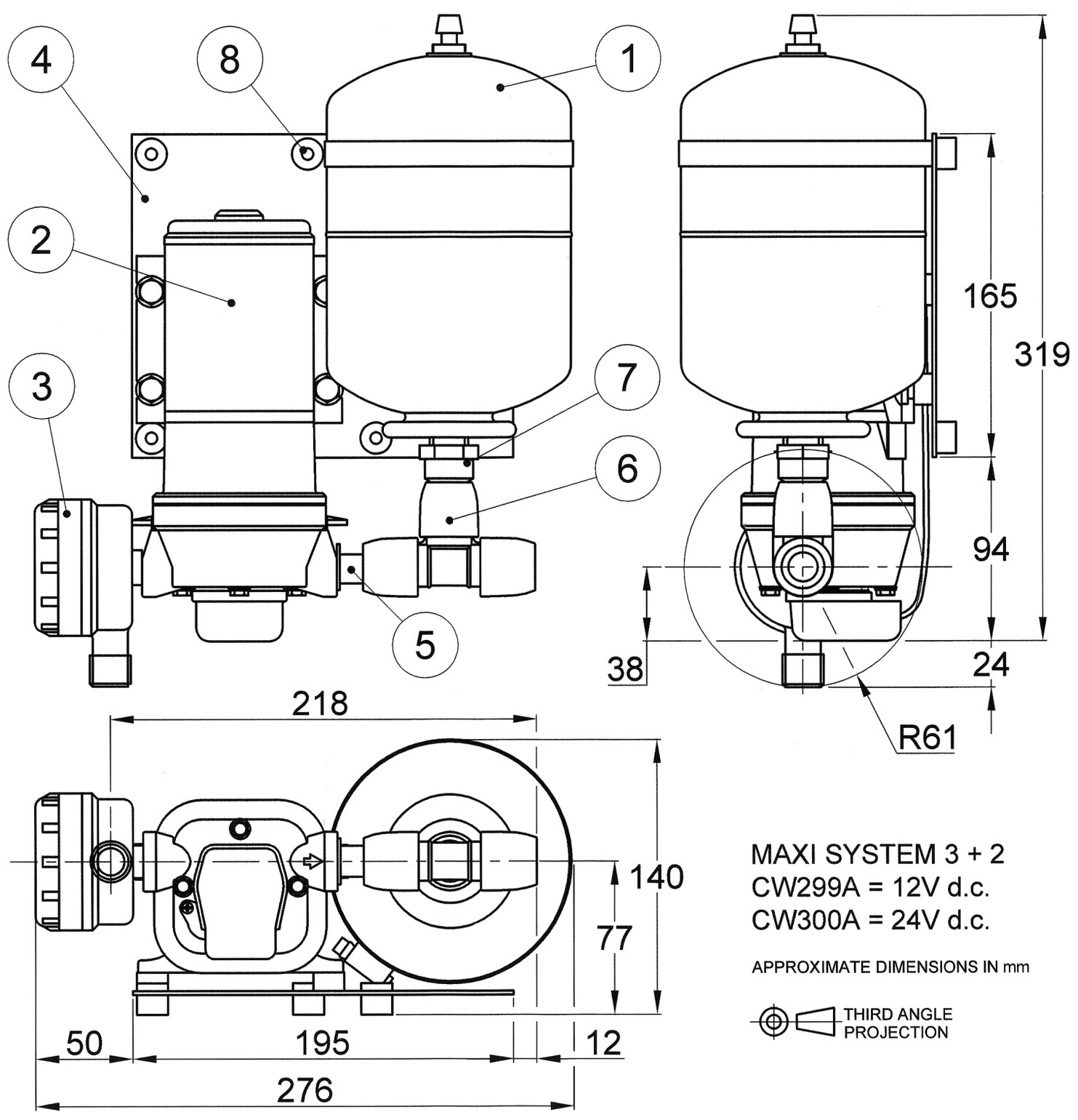 Cw299a Maxi System 3 Pressure Single Pump Sets Flojet Wiring Diagram Diaphragm Systems Xylem Jabscoshop Jabsco Rule Pumps And More From