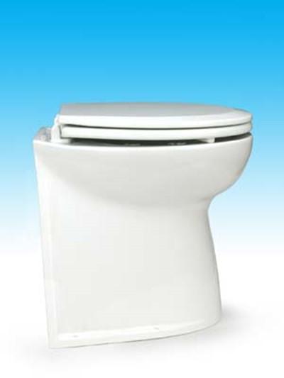 Jabsco 58040 2012 Deluxe Flush Electric Toilet Fresh