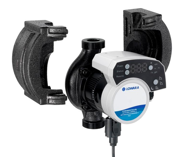 Lowara E503010AA - Ecocirc XL High Efficiency Variable Speed Commercial Circulator  Pump 230v / Lowara Ecocirc Circulators / Transfer & Circulation Pumps /  Industrial Products / Xylem JabscoShop - Jabsco & Rule