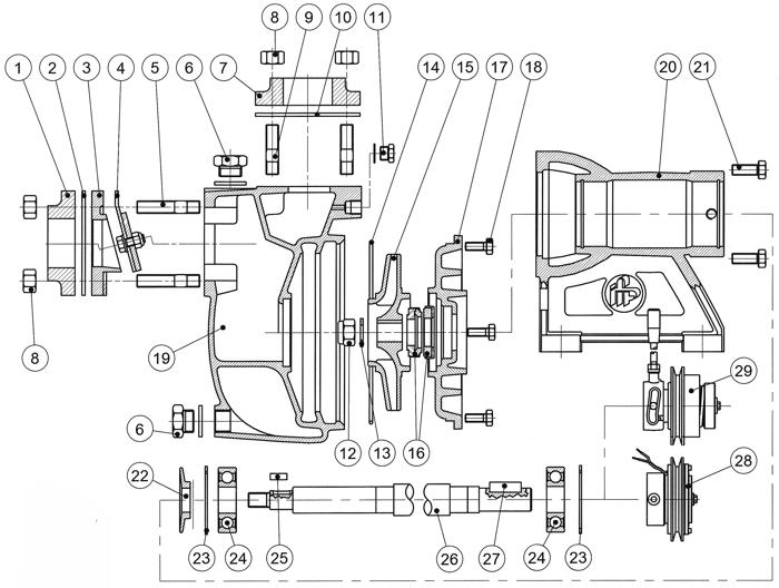 am40d 1 bronze self priming centrifugal pump am series fp rh jabscoshop com  durco self priming pump manual