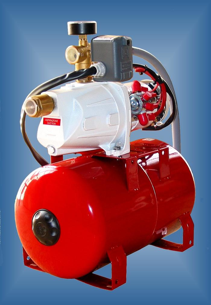 AQM6 24 Water Pressure System 24V Aqua Major Pump