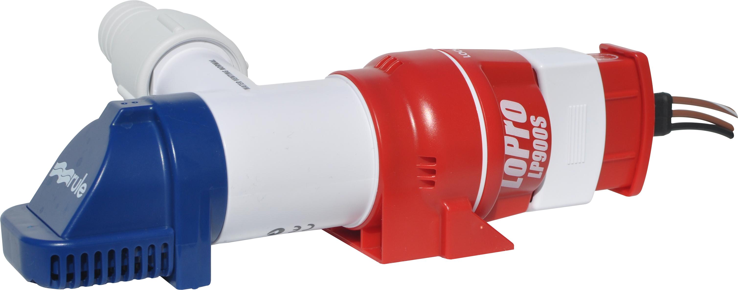 Rule Pump 12 Volt Dc Non Automatic Bilge 360 Gph 750 Wiring Moreover Diagram Lp900s Lopro Submersible Pumps